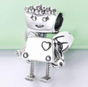 Pandora Charm Replica AliExpress Pendant 005 Pandora Floral bella bot 1