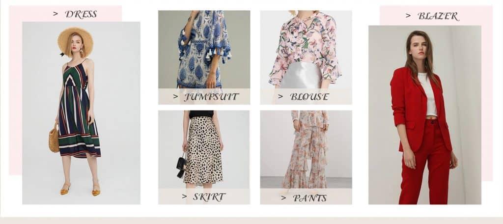 AliExpress Women Fashion Topshop Zara replica Summer bellaphilosophy 2