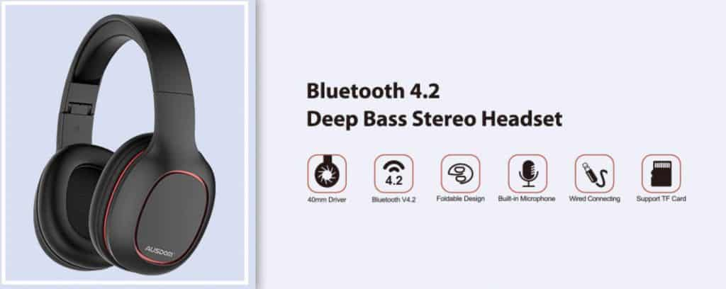 Best Cheap Bluetooth Headphone Bose replica latest AliExpress Ausdom 3