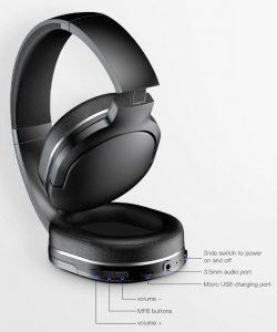 Best Cheap Bluetooth Headphone Bose replica latest AliExpress Baseus 4 functions