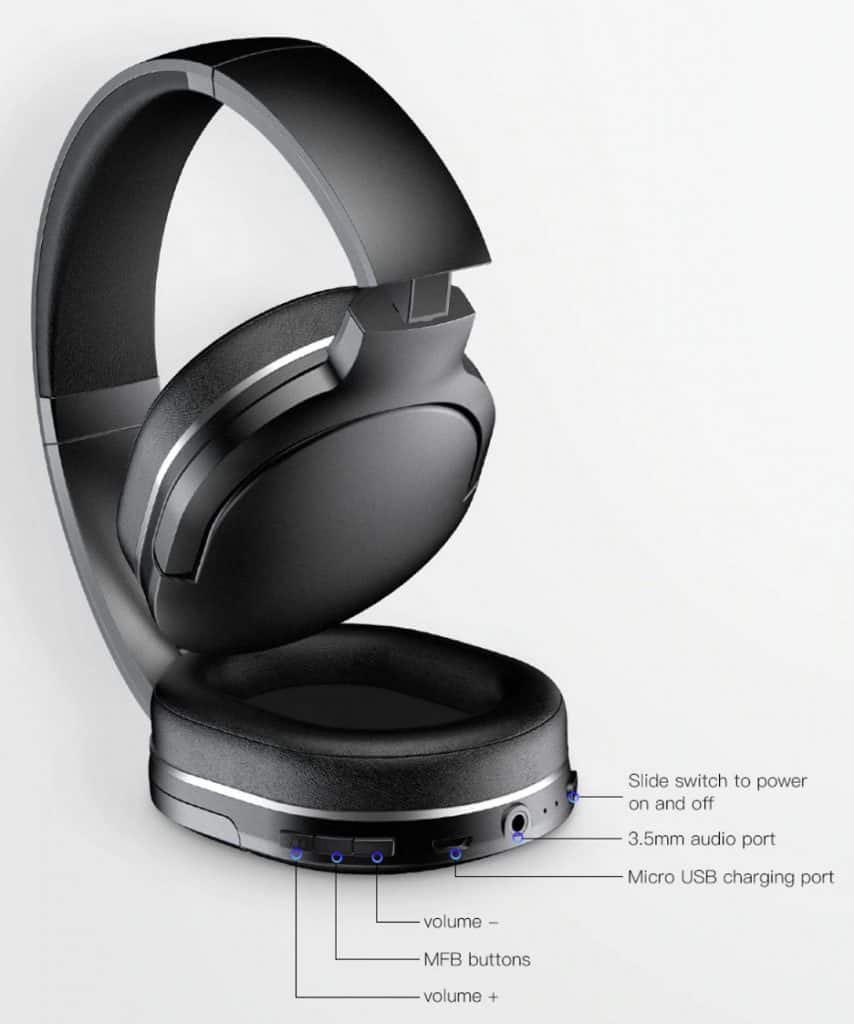 Best Cheap Bluetooth Headphone Bose replica latest AliExpress Baseus 4 functions