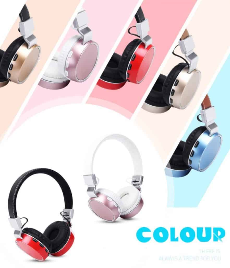 KAPCIAE Plus Wireless Bluetooth Headphones/headset with Microphone/Micro bluetooth headphone/headset