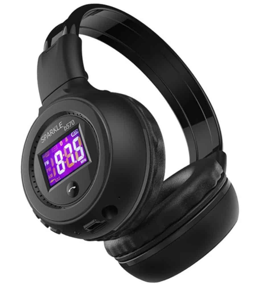 HiFi Stereo Bluetooth Headphone Wireless Headset With Microphone FM Radio Micro SD Card Play Best Cheap Bluetooth Headphone replica latest AliExpress ZEALOT B570