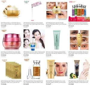 China Cosmetics Beauty products cheap QYF1
