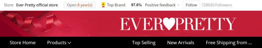 EverPretty Women Fashion replica Shein Zara Topman Forever21