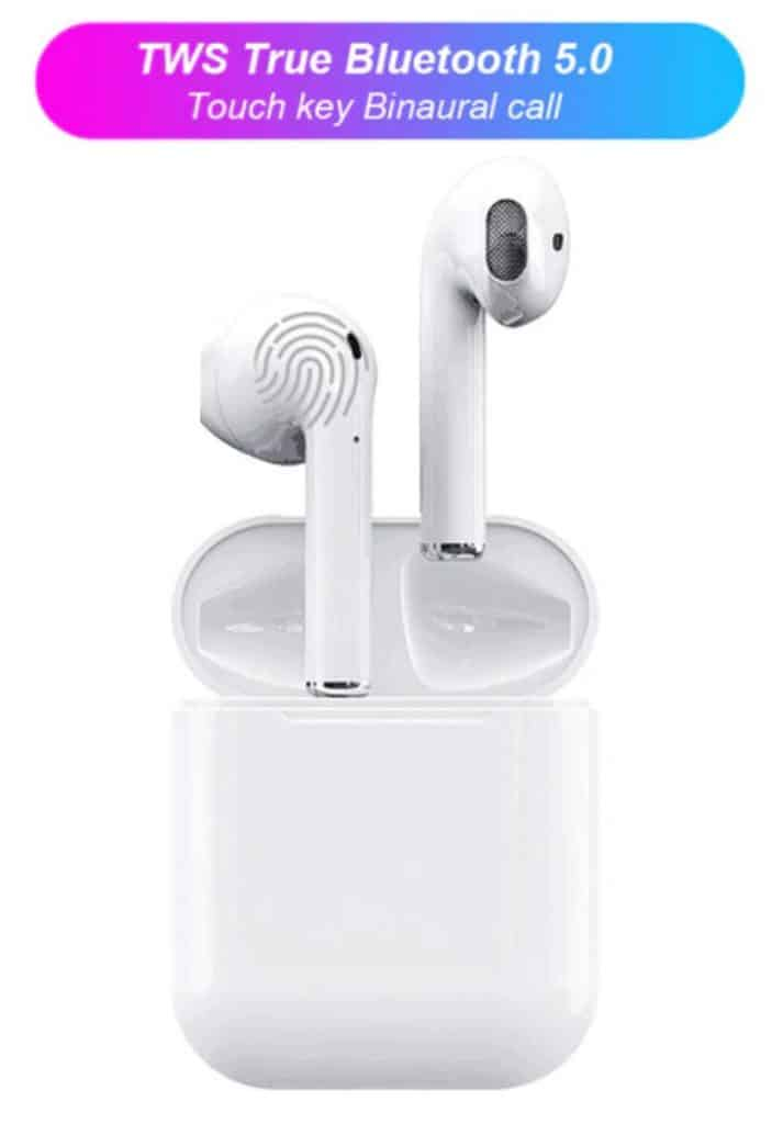 fake airpod replic aliexpress airpod clone TWS i12 エアポッドレプリカ