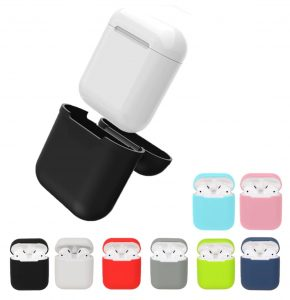 fake airpod replica aliexpress airpod clone airpod case cover 1 Silicone Case Shock Proof Protector Sleeve Skin Cover for AirPods True Wireless Earphone Cases Cover