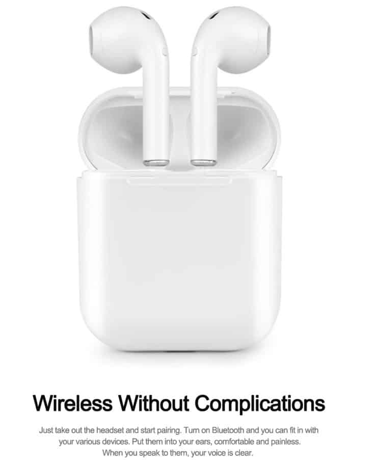 i20 TWS Airpod Replica Airpod copy clone Original Airpod 1:1 Supercopy