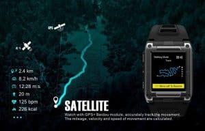 smart watch replica Satellite enabledsamsung watch copy fake bluetooth watch Makibes 08 3