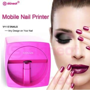Make Up Replica Automatic Nail Painting Easy All-Intelligent 3D Nail Printers Wifi Nail Printer Machine Manicure Equipment 2