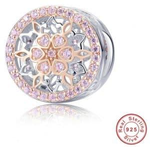 Pandora Charm Replica AliExpress InBeaut Rose Heart17