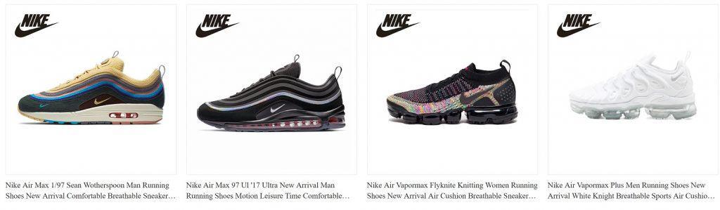 Top 10 Trusted AliExpress Nike Shoes Replica Vendors