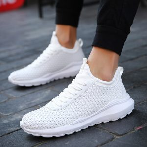 Shoes Nike Replica Nike lookalike AliExpress Dengchen Nike Air Woven Running Shoes for Man Women 2018 White Shoes Sport Shoes Men Sneakers Zapatos Corrientes Chaussure Zapatillas Deportivas Hombre 1