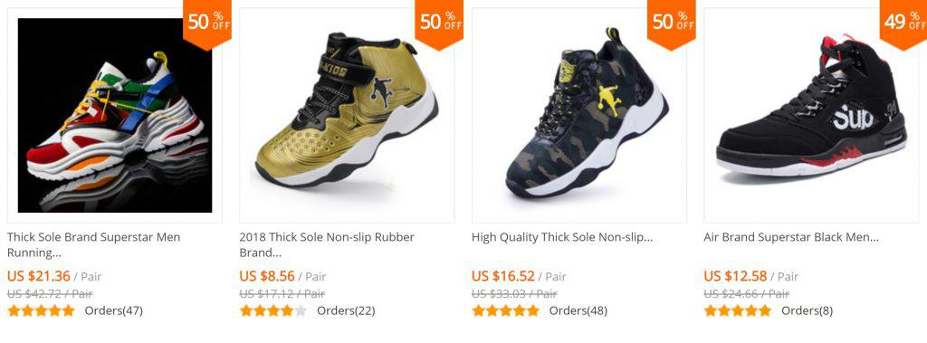 Shoes Replica AliExpress Jona Green Stores Nike Alternatives Sports shoeLookalike 1