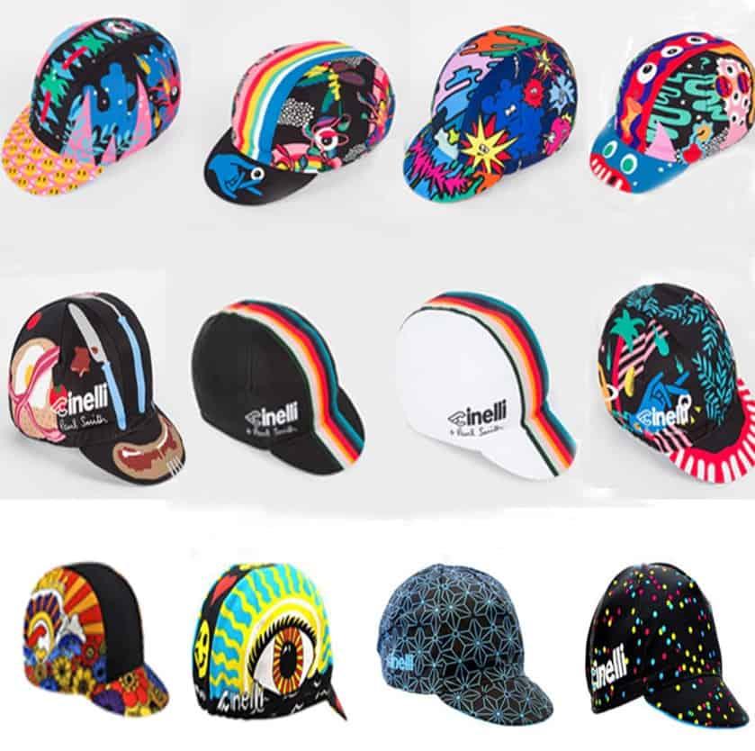 Cycling Jersey Replica Lookalike Clone Sportswear AliExpress Cycling Cap for Men Women Kids Flashy Colorful Riding Hats 1