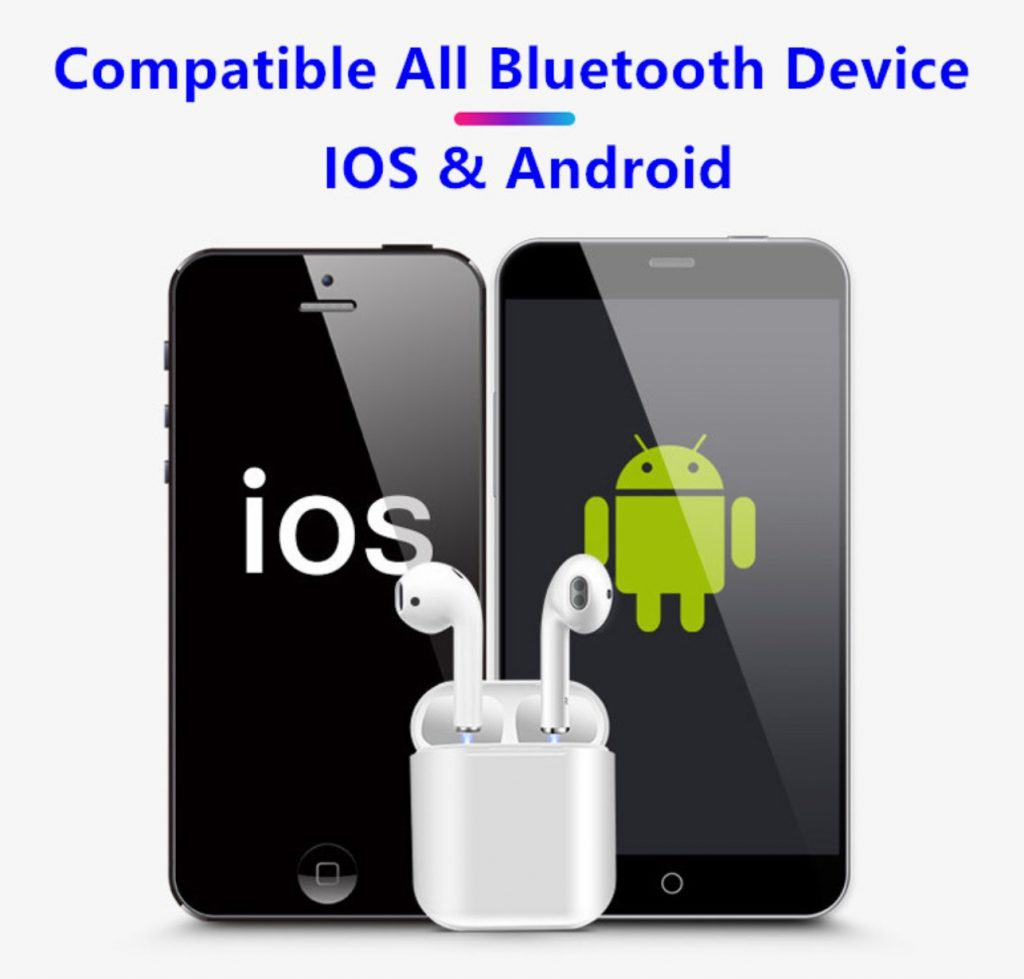 fake airpod replica aliexpress airpod clone airpod i30tws 1to1 Compatible Android IOS