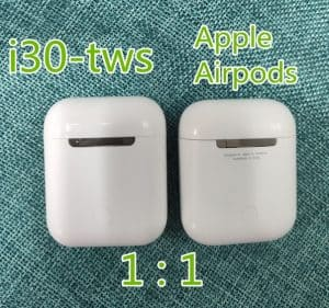 fake airpod replica aliexpress airpod clone airpod i30tws Exact Size 4