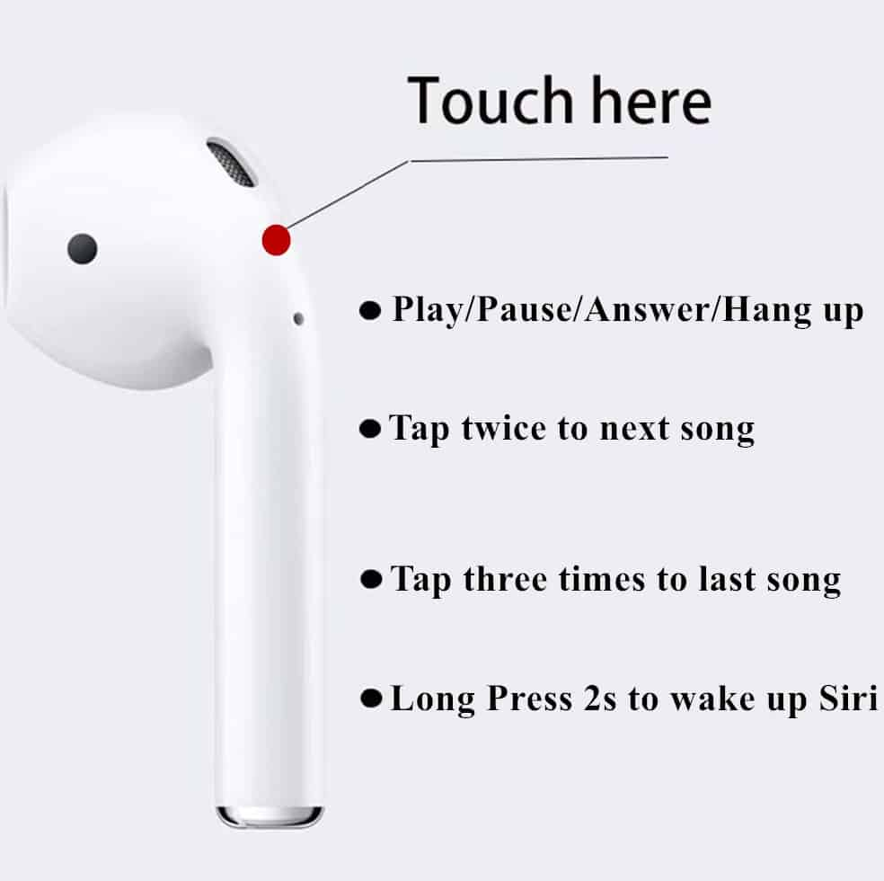fake apple airpod replica aliexpress airpod clone airpod 1to1 Supercopy 5