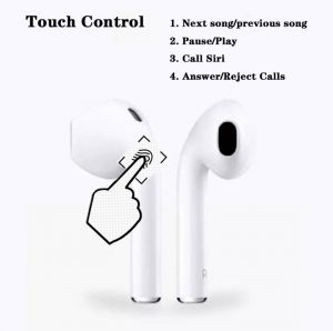 Cheap fake apple airpod replica aliexpress airpod clone touch controls airpod i300 2 controls
