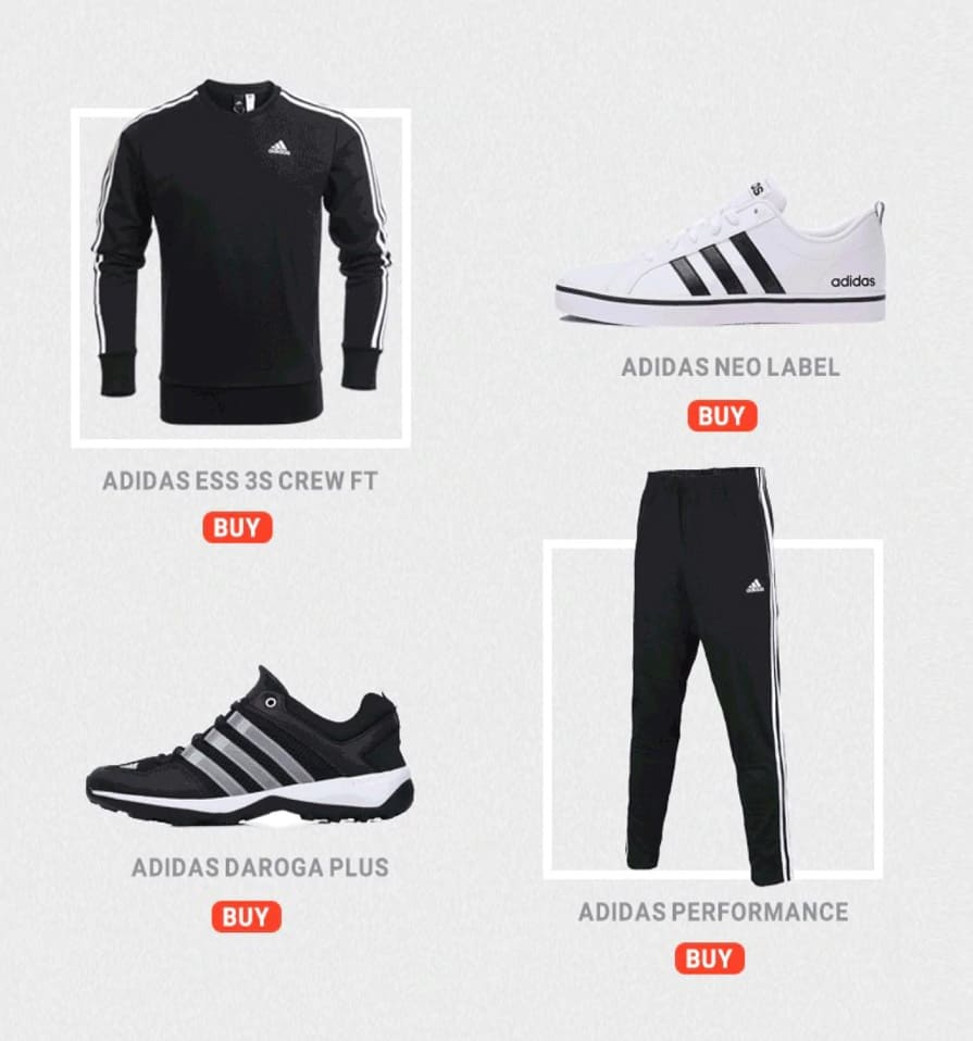 Adidas Replica Shoes Adidas Copy Fake AliExpress best sport store 1