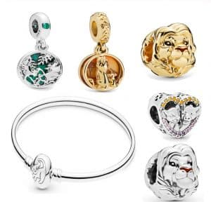 Pandora Charm Replica Bracelet Pendant Jewelry 925 Sterling Silver AliExpress Lion King Disney1