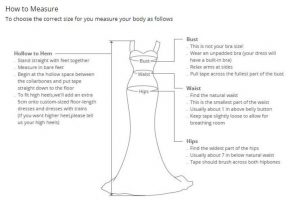 AliExpress Cheap Designer Wedding Dresses Bridal Gown Applique Dress 1 How to measure