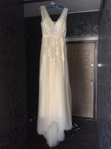 AliExpress Cheap Designer Wedding Dresses Bridal Gown Elegant champagne wedding dress 1