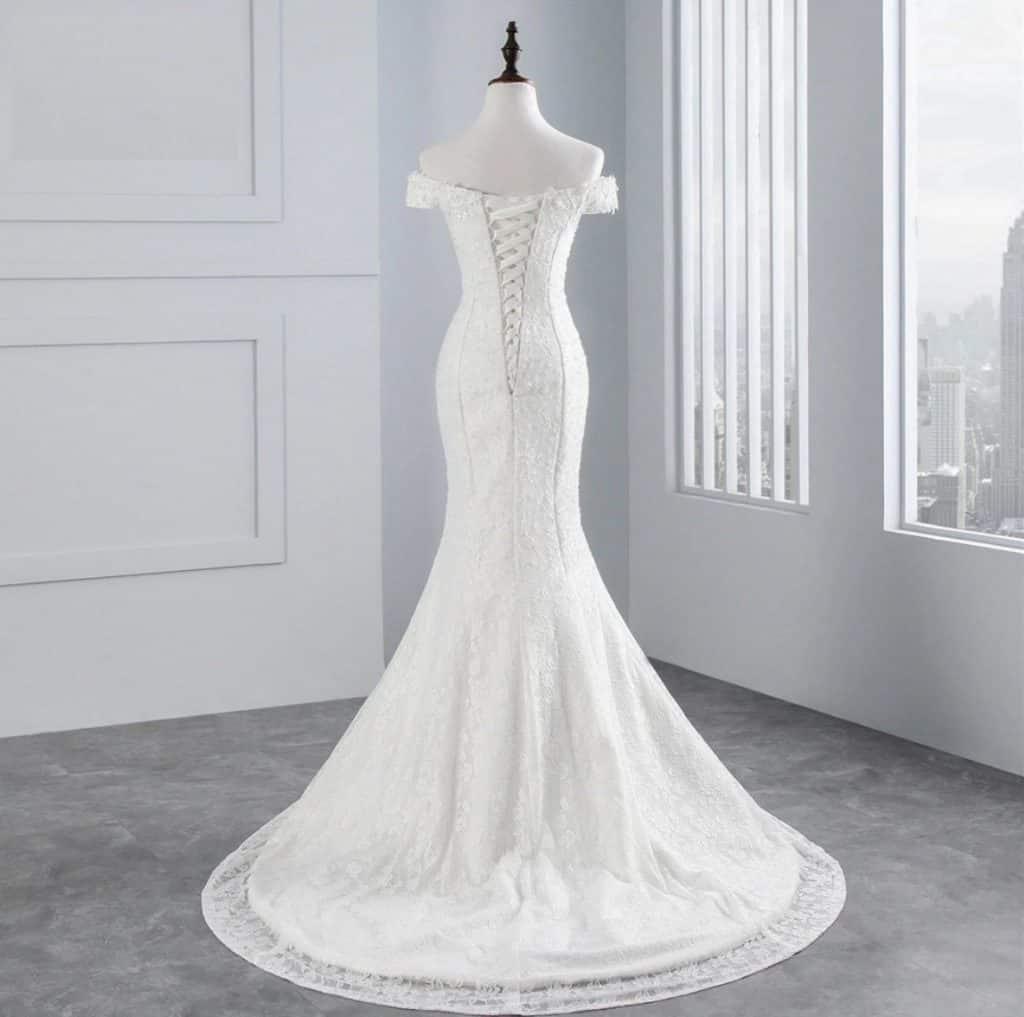 AliExpress Cheap Designer Wedding Dresses Bridal Gown MermaidDress 1