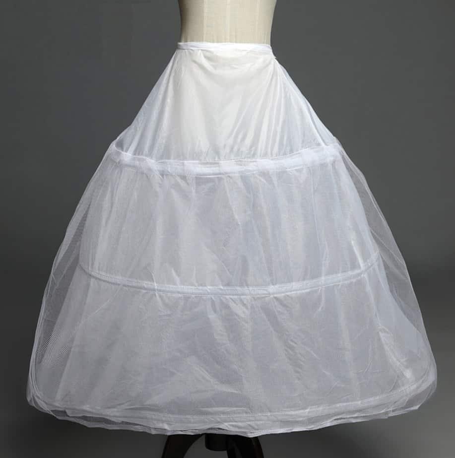 AliExpress Cheap Designer Wedding Dresses Bridal Gown Underskirt 1