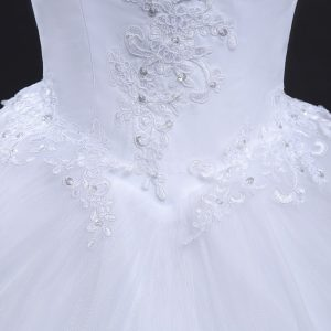 AliExpress Cheap Designer Wedding Dresses Bridal Gown Vintage Long Train 4