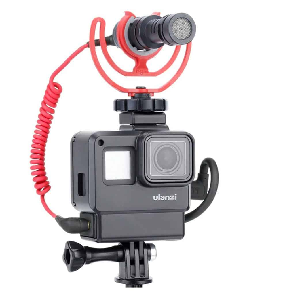 Top 5 Best AliExpress GoPro Alternatives Copy Cheap Action Camera Best Video Quality AliExpress Handheld Top Gimbal GoPro Compatible Vlog Housing 4 With Mic