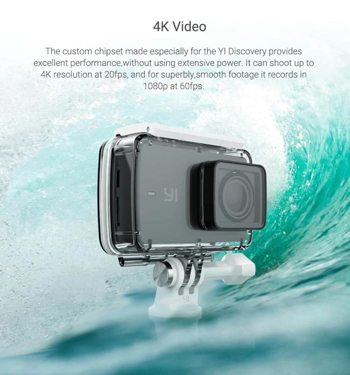 Top 5 Best AliExpress GoPro Alternatives Copy Cheap Action Camera Best Video Quality AliExpress Yi Discovery underwater 3
