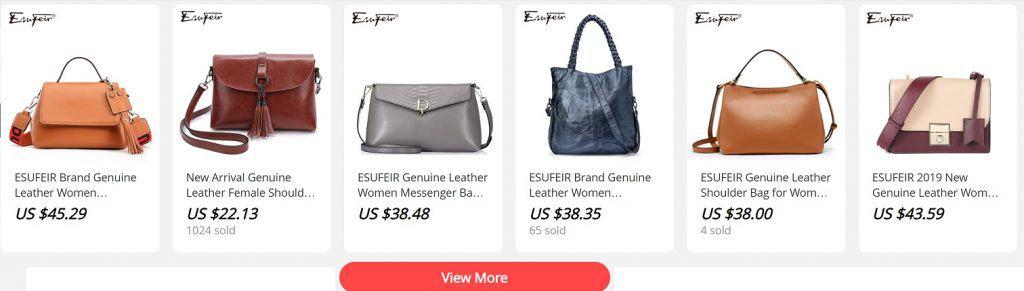 AliExpress Cheap Designer Women Luxury Handbags Replica Copy Purse Esufeir 2