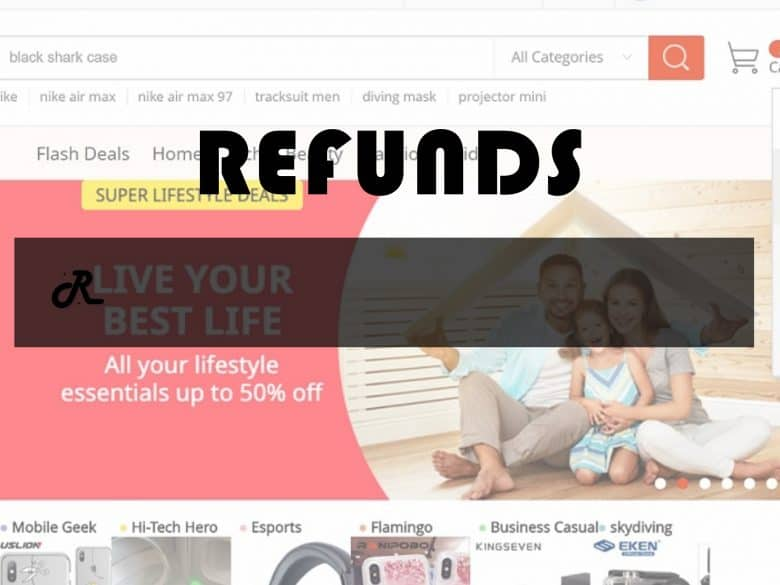 AliExpress Cancel Order Get Refund My Orders Replica Cover Page1