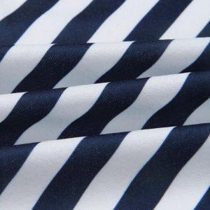 AliExpress Elegant Party Dresses Summer Dresses for Woman 4 Women Stripe Printing Sleeveless Off Shoulder Dress