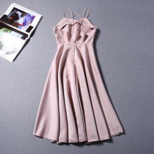 AliExpress Elegant Party Dresses Summer Dresses for Woman 4 foxfashion Backless women girl sexy Dress