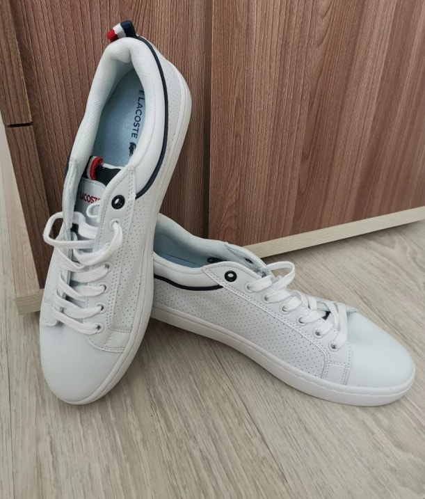Fashion Brand Replica Shoes Cheap Branded Copy Sneakers Fake Shoes AliExpress China Wholesale Lacoste 1 All White