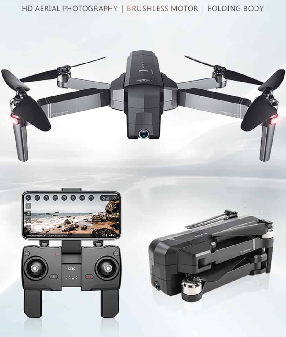 Best Cheap Gift AliExpress GPS Professional Drone Quadcopter with Wifi DJI Replica Fly Far Clear Camera Video