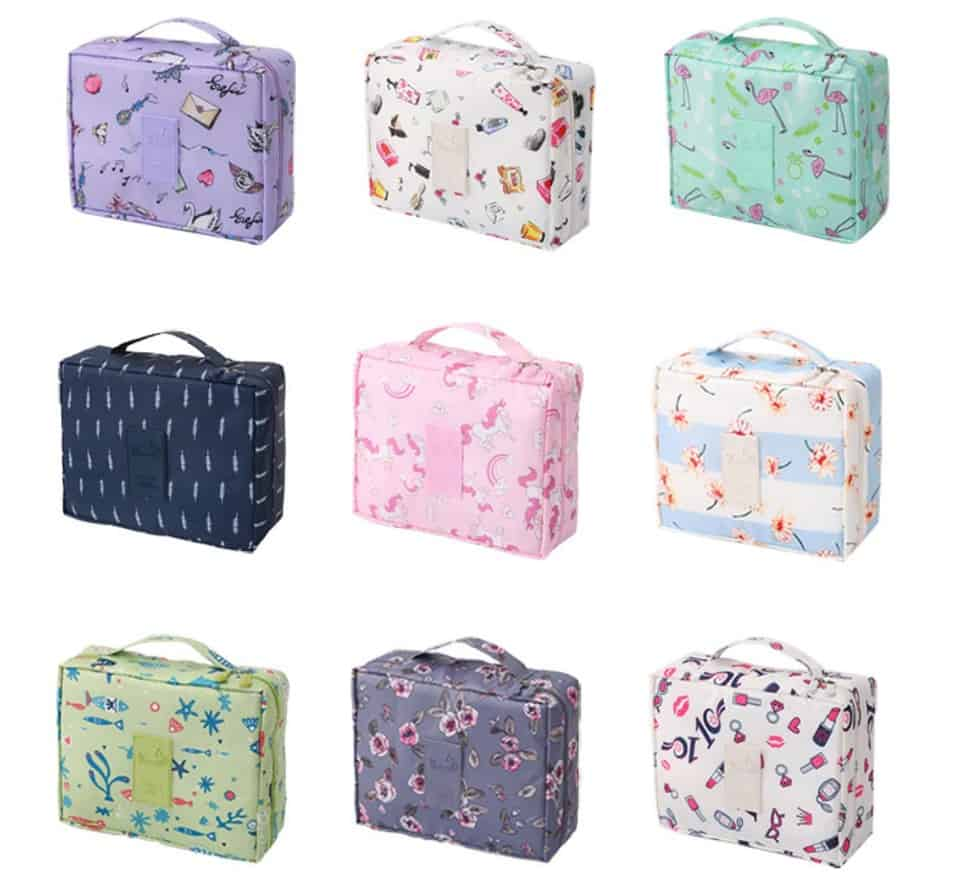 Cheap AliExpress Make Up Replica Matte Waterproof Makeup Box Portable Cosmetic Bag Pouch Container 1 Tidy Multiple Designs Designer