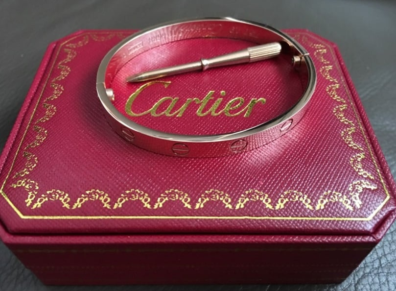 Cheap Cartier Jewelry Replica Bracelet Pendant Jewelry 925 Sterling Silver AliExpress wholesale_j 4 products love bangle rosegold with diamonds crystals Box