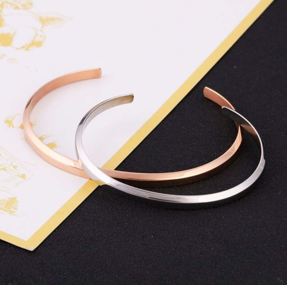 Cheap Cartier Jewelry Replica Bracelet Pendant Jewelry Titanium Stainless Steel Rose Gold Silver Cuff Bangle de Cartier collection Rosegold
