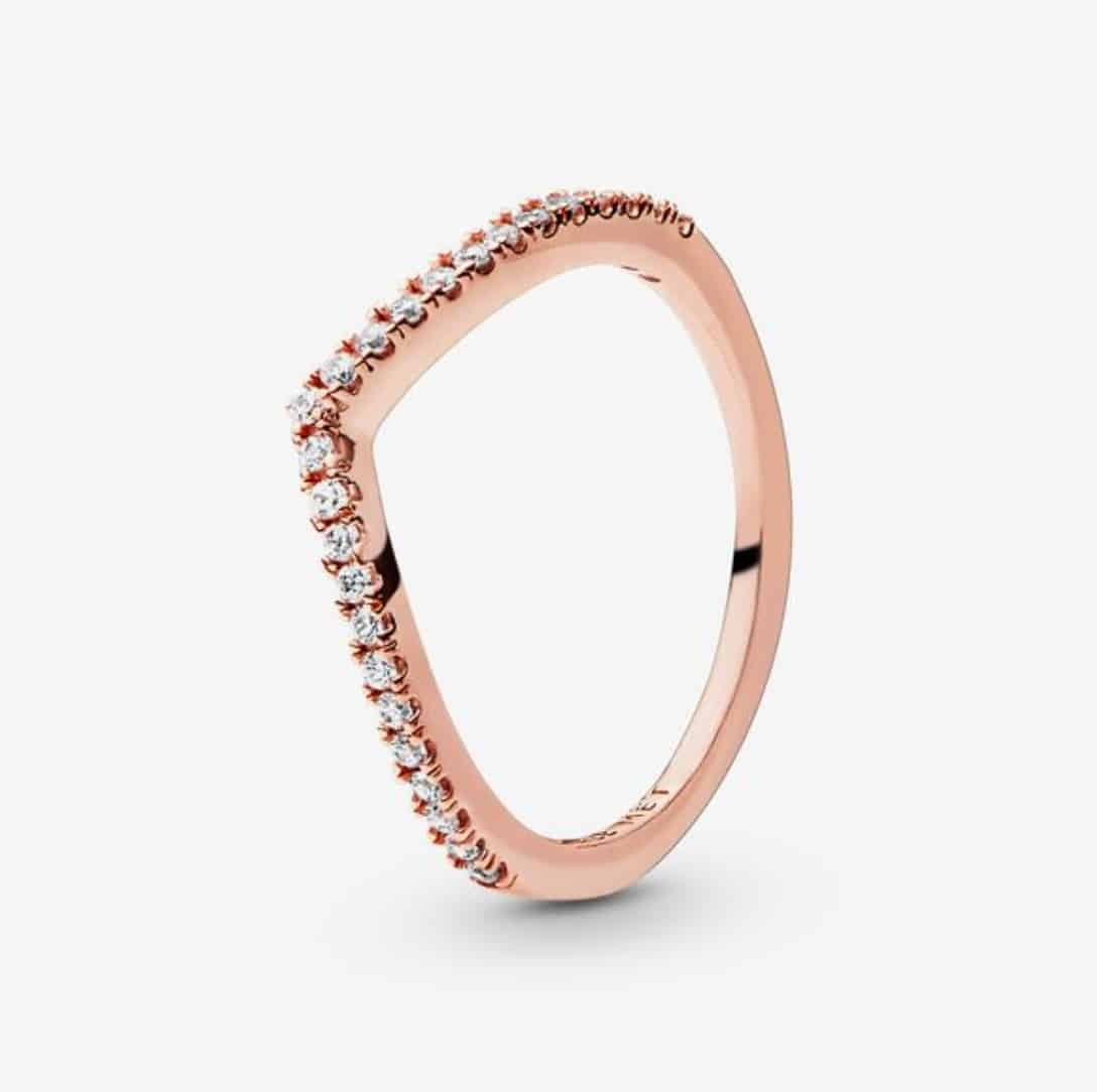 Pandora Charm Replica Bracelet Pendant Jewelry 925 Sterling Silver AliExpress Promise Wishbone Diamond Ring