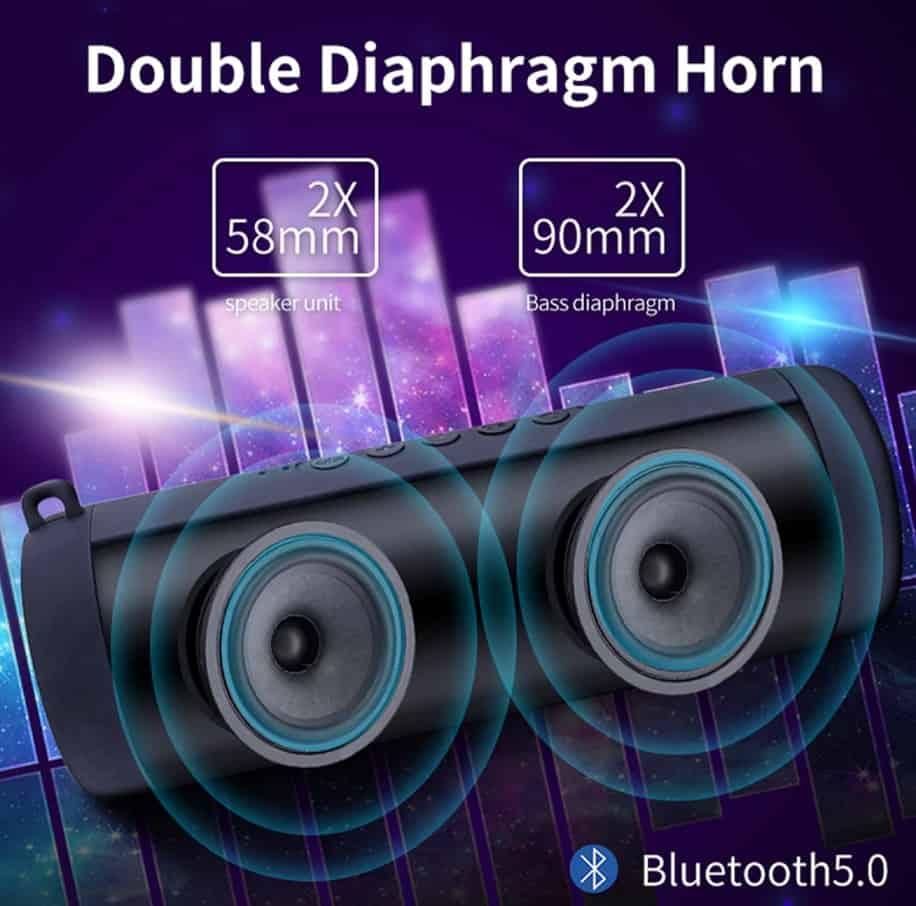 High Quality Bluetooth Speaker Bose replica Portable speaker Bose alternative 2020 AliExpress Huawei diaphragm horn